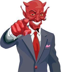 Devil in a suit