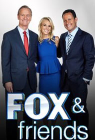 Fox and Friends cast: Brian Doocy, Ainsley Earhardt & Brian Kilmeade