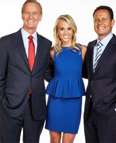 Fox and Friends' Steve Doocy, Elizabeth Hasselbeck and Brian Kilmeade