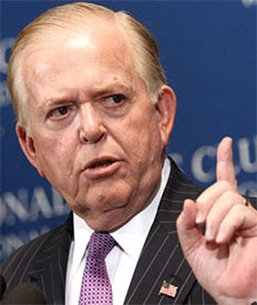 Lou Dobbs still questions President Obama's birth certificate and American citizenship