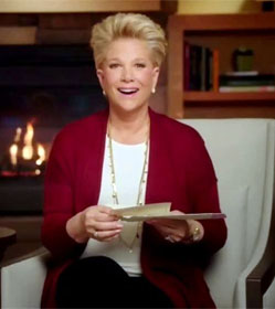 "Joan Lunden on ""A Place for Mom"" TV commercial"