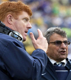 Penn State coaches McCreary & Paterno