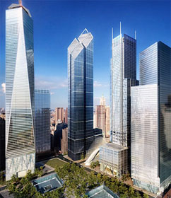 Design of new World Trade Center, New York City