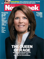 Newsweek cover Michelle Bachmann