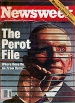 Newsweek cover Ross Perot