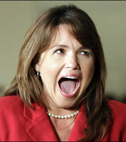 Tea Party favorite Christine O'Donnell (R-DE)