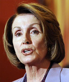 Speaker of the House Nancy Pelosi (D-CA)