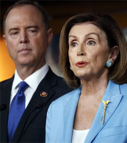 Adam Schiff and Nancy Pelosi