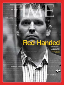 Donald Trump Jr. on TIME cover