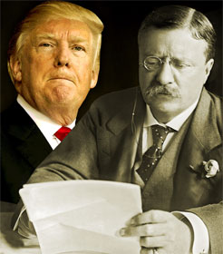 Donald Trump and Teddy Roosevelt