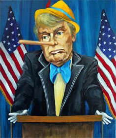 Trump-nocchio by Dana Ellyn