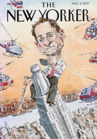 "Anthony Weiner as ""Carlos Danger,"" by John Cuneo"
