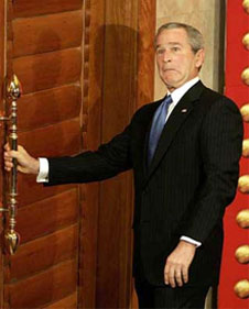 George W. Bush lowered the bar for Presidential visits to China